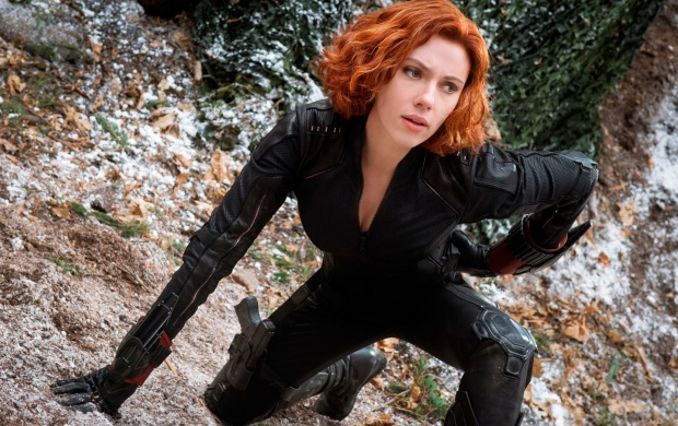 Black Widow In Avengers: Age Of Ultron (click to view)