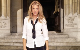 Blake Lively - School Girl