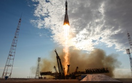 Blasts Off For International Space Station