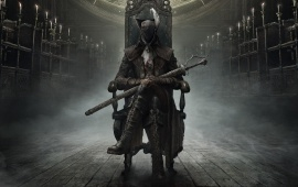 Bloodborne The Old Hunters Expansion Hunter