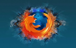 Blue Abstract Firefox