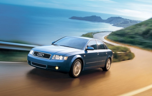 Blue Audi A4 (click to view)