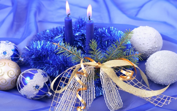 Blue Christmas Decor (click to view)