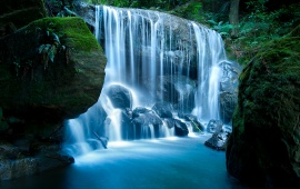 Blue Mountains Waterfall, NSW, Australia