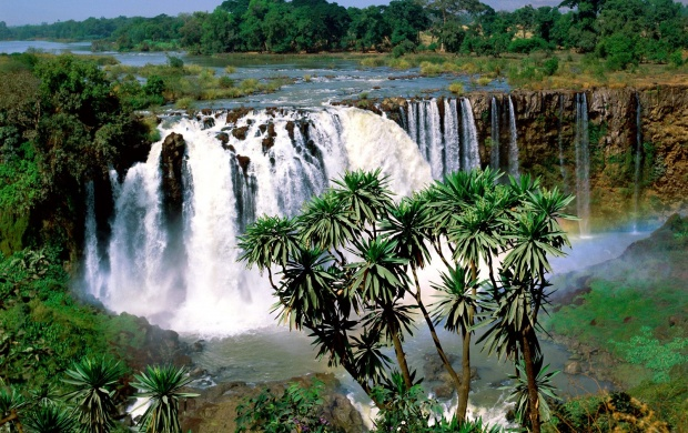 Blue Nile Falls (click to view)