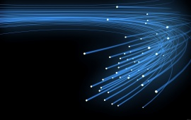 Blue optical fiber