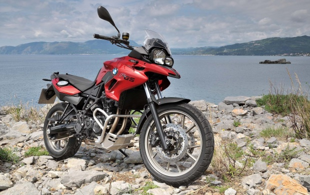 BMW F700GS Front Side (click to view)
