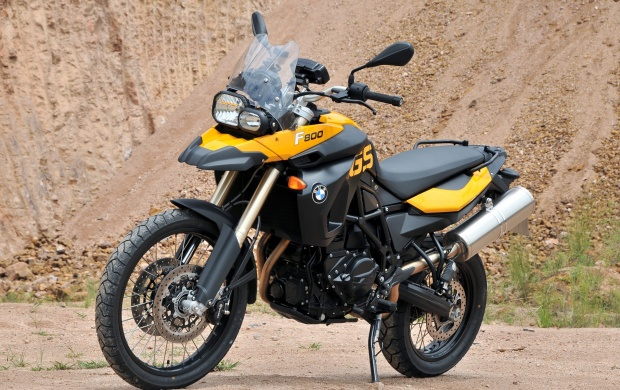 BMW F800GS Motorcycle (click to view)