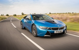 BMW i8 UK Version 2014
