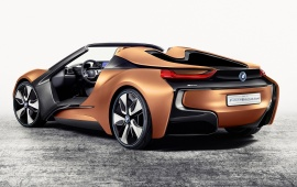 BMW i Vision Future Interaction Concept Side View