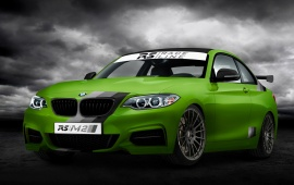 BMW M235i Green Hell 2014
