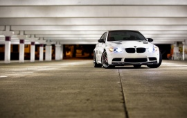 BMW M3 White Car