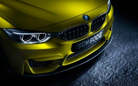 BMW M4 Bonnet