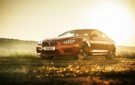 BMW M6 Coupe With Sunset