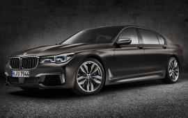 BMW M760Li xDrive Car 2017