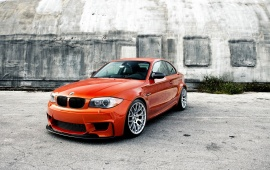 BMW Orange Carbon