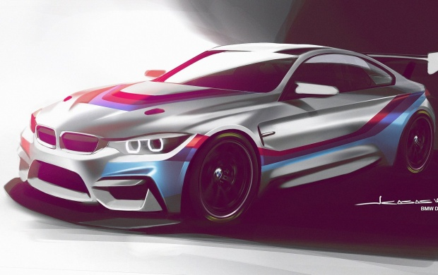 BMW Readies M4 GT4 Customer Race Car (click to view)