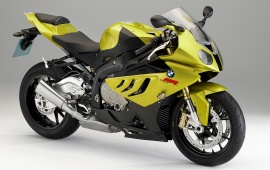 BMW S 1000 RR In Yellow
