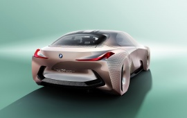 BMW Vision Next 100 Concept Rear View
