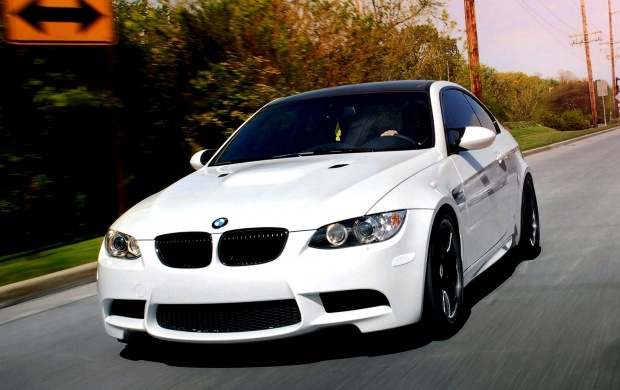BMW White Car (click to view)