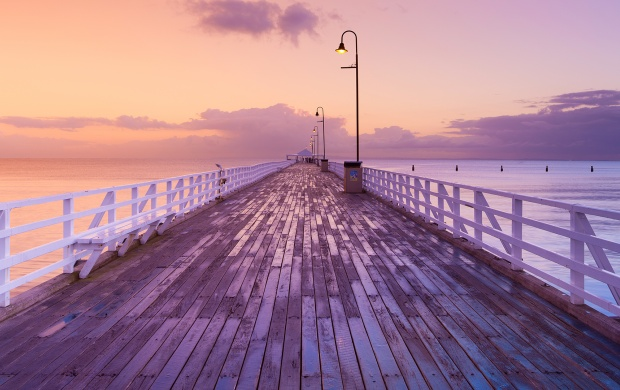 Boardwalk at Sunset (click to view)