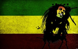 Bob Marley Red Yellow Green
