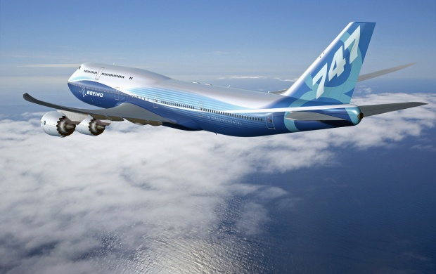 Boeing 747 8 Intercontinental (click to view)
