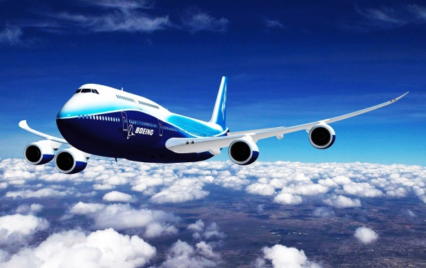 Boeing 747 -8 (click to view)