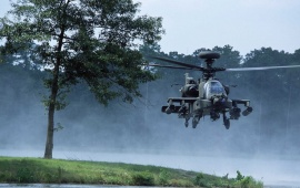 Boeing AH-64 Apache Helicopter