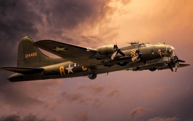 Boeing B-17G (click to view)