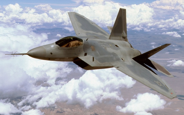 Boeing F 22 Raptor (click to view)