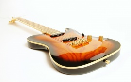 Bold Electric Guitar
