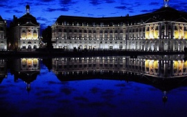 Bordeaux In Night