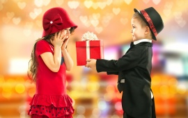 Boy Gifts Girl