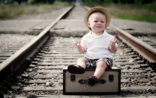 Boy On The Railroad (click to view)