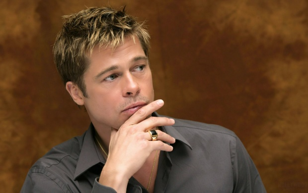Brad Pitt Thinking (click to view)