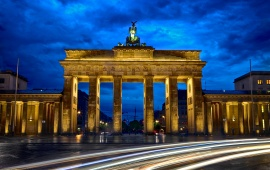 Brandenburg Gate Berlin City