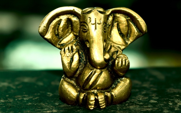 Brass Lord Ganeshji (click to view)