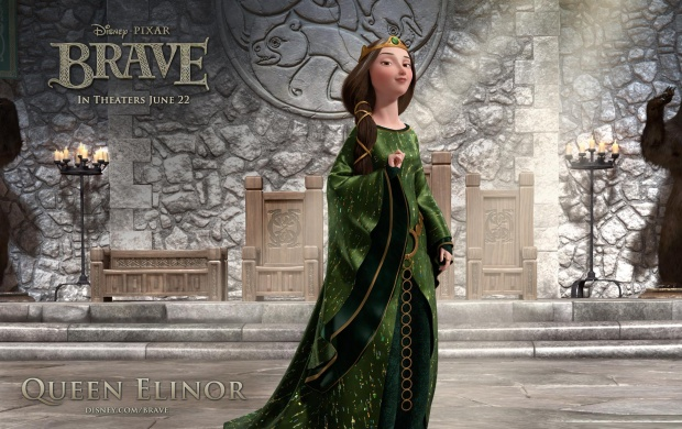Brave Queen Elinor Cartoon (click to view)