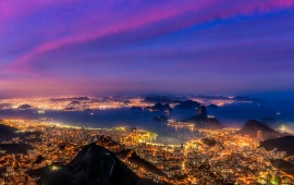 Brazil City Lights