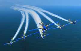 Brazilian Smoke Squadron Air Show