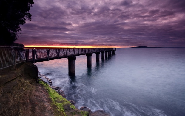 Bridge under the Clouds (click to view)