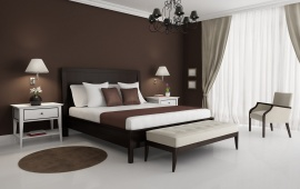 Brown Luxury Bedrooms