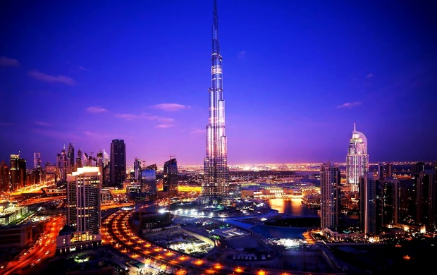 Burj Khalifa Tower Dubai (click to view)