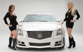 Cadillac CTS With Girls