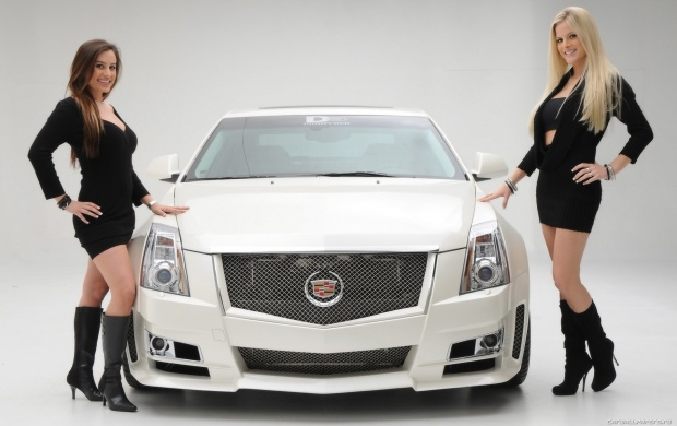 Cadillac CTS With Girls (click to view)