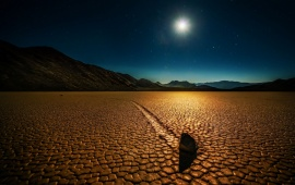 California Death Valley Night