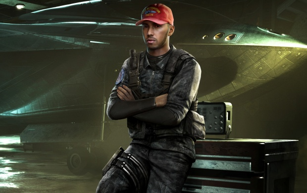 Call Of Duty Infinite Warfare Lewis Hamilton (click to view)
