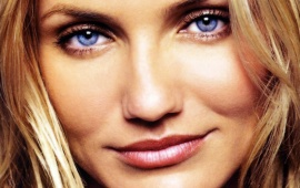 Cameron Diaz Close Up