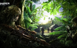 Camouflage Sniper: Ghost Warrior